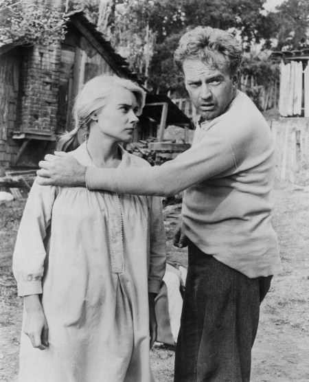 Hope Lange And Arthur Kennedy In 'Peyton Place'